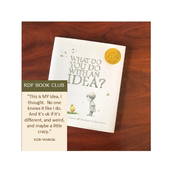RDF Book Club – What do you do with an idea?