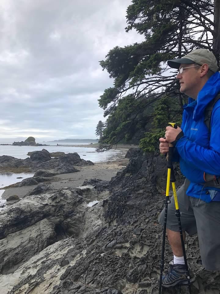 backpacking the Washington Coast