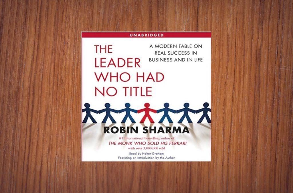RDF Book Club – The Leader Who Had No Title